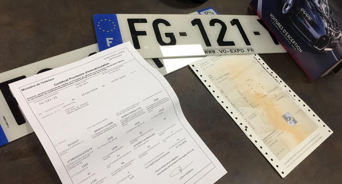Plaque Immatriculation